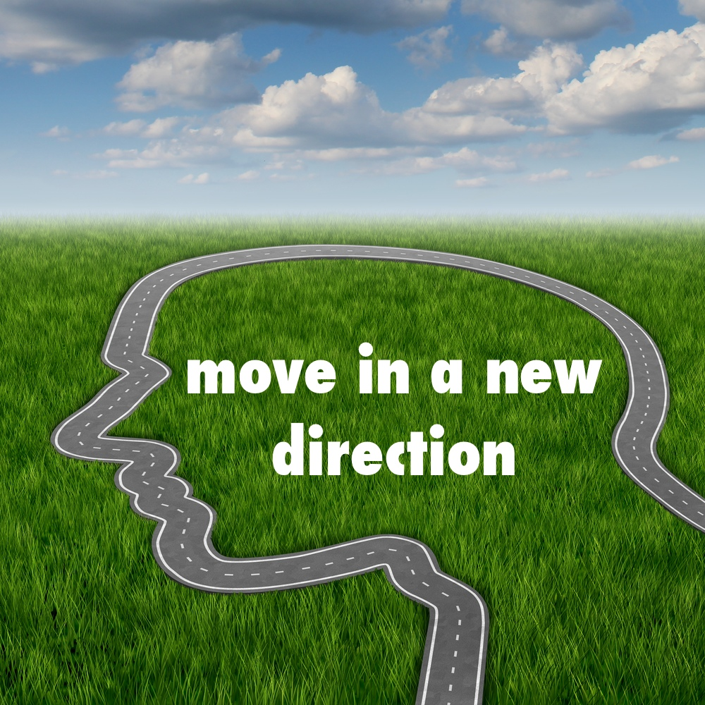 train your brain - move in a new direction