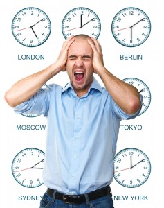 avoid jet lag - enable time distortion