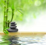relaxing stones and water - relaxation